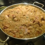 photo 11 - what the rice looks like when its ready to go in the oven