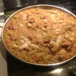 photo 12 - what the rice should look like when its ready to come out of the oven